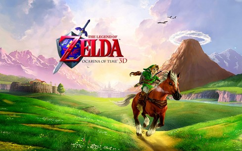 Zelda: Ocarina of Time 3D, vídeo de la secuencia de introducción del vende 3DS
