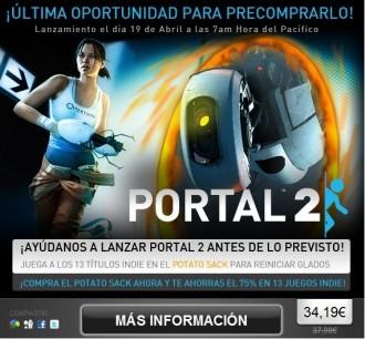 Ayúdanos a reiniciar a GLaDOS y podrás jugar a Portal 2 antes de lo previsto
