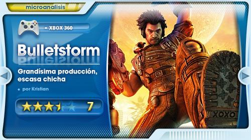 """""""Bulletstorm es una gran producción hueca"""" [Análisis Xbox 360]"""