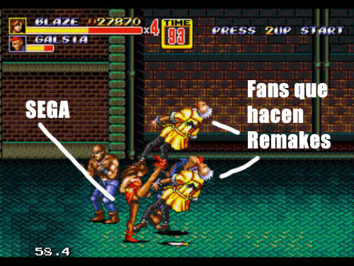 Retirar el remake de Streets of Rage era un plan mayor