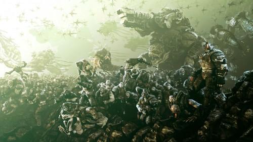 Abidal sale en el nuevo trailer de Gears of War 3. Casi.
