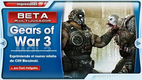 Crónica del evento Beta Gears of War 3 en Madrid