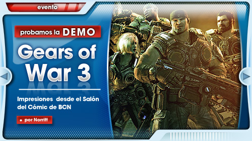 Gears of War 3, jugamos a su demo