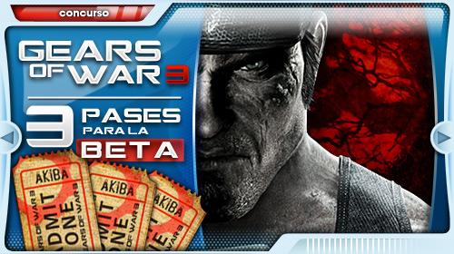 Vídeos de la beta Gears of War 3 (y una forma de conseguir tu pase a ella)