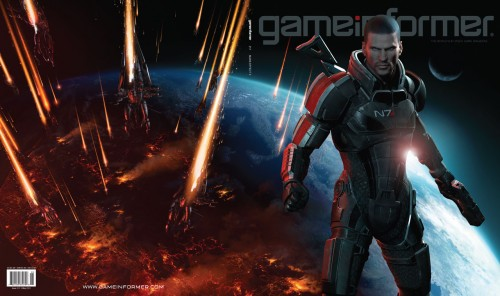 Mass Effect 3 se presenta en Game Informer
