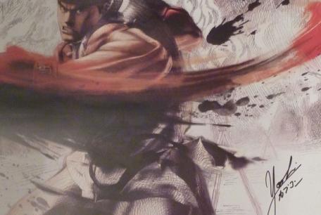 Y el ganador del póster de Super Street Fighter IV 3D firmado por Yoshinori Ono es…