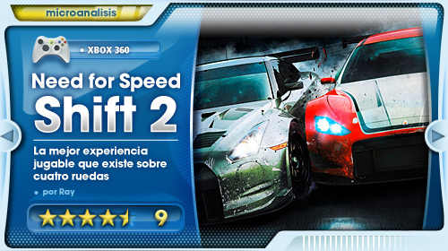 Análisis de Need For Speed Shift 2 Unleashed para Xbox 360