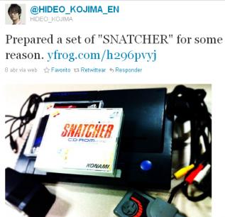 Un nuevo Snatcher podría ser el próximo pelotazo de Kojima