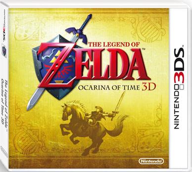 Un mes nada más para Zelda: Ocarina of Time 3D