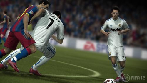 FIFA 12: comienzo del bombardeo