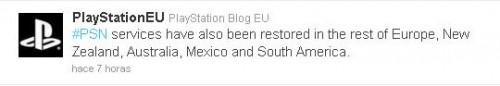 [Hackeo PSN] Ya vuelve a funcionar Playstation Network en España, pero…
