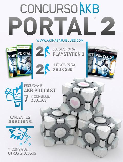 Si quieres un Portal 2 gratis pero no tienes AKB Coins, mejor no entres a este post