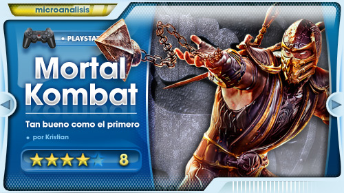 """""""El último Mortal Kombat tiene mucho de añejo. Y eso es muy bueno."""" [Análisis PS3]"""