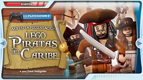 Lego Piratas del Caribe, lo jugamos en la Playroom de Playstation
