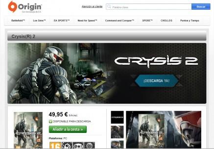 Como el Crysis 2 es mío, me lo llevo