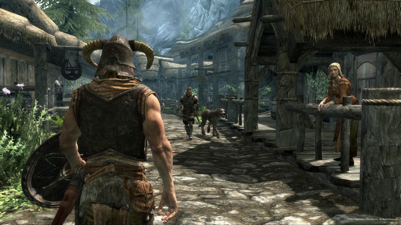 [E3 2011] – The Elder Scrolls V: Skyrim muestra sus armas