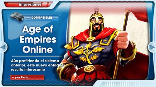 Impresiones con Age of Empires Online