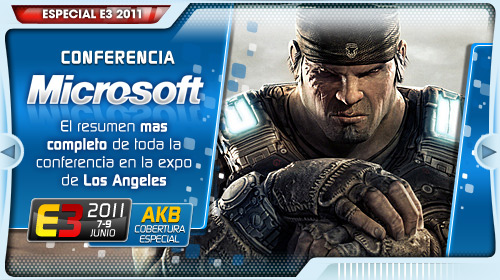 [E3 2011] Conferencia Microsoft en DIRECTO