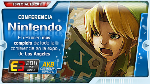 [E3 2011] Conferencia de Nintendo en DIRECTO