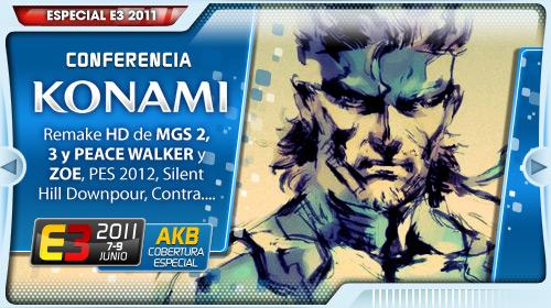 [E3 2011] Conferencia de Konami en Directo