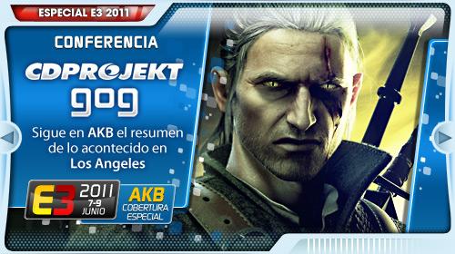 [E3 2011] Conferencia de CD Projekt y GOG en DIRECTO