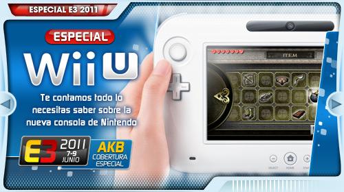 [E3 2011] Todo sobre Wii U, la nueva consola de Nintendo