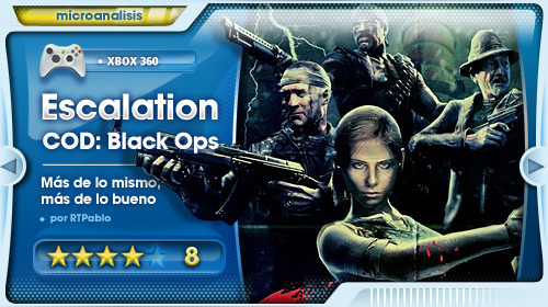 Análisis de Call of Duty: Black Ops DLC Escalation para Xbox 360