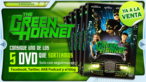 ¿Quieres un DVD de The Green Hornet?