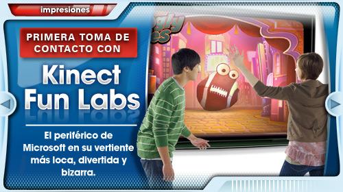 [E3 2011] Primeras impresiones con Kinect Fun Labs
