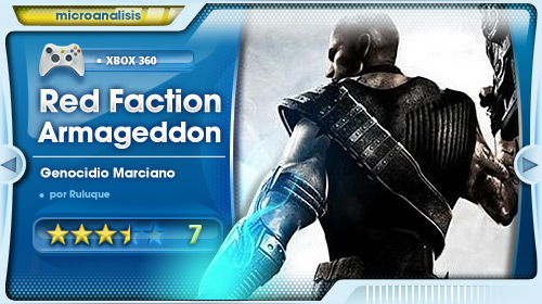 Análisis de Red faction Armageddon para Xbox 360