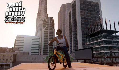 GTA San Andreas con el motor Rage es #awesome
