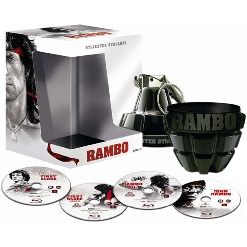 La única Edición de la Cuatrilogía que hace justicia a Rambo