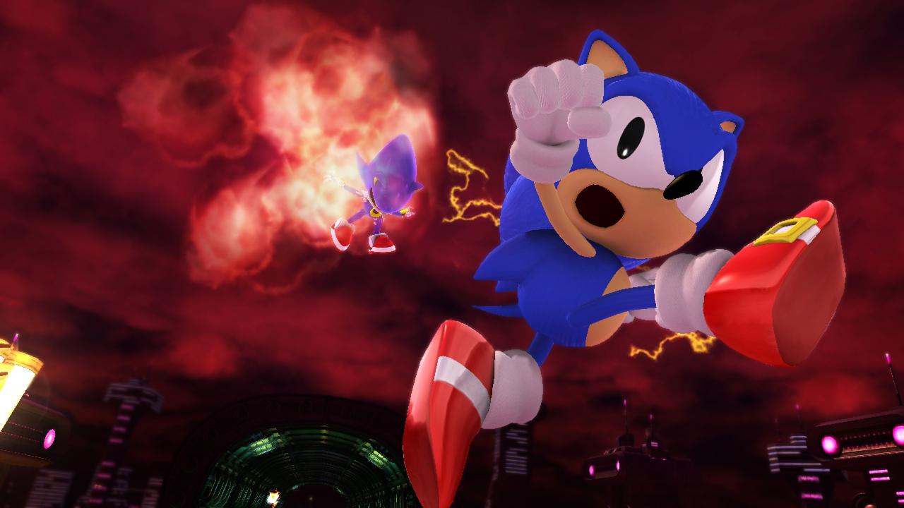 Nuevas imágenes de Sonic Generations y video retro-remember