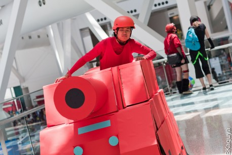 Este cosplay de Advance Wars da el pego