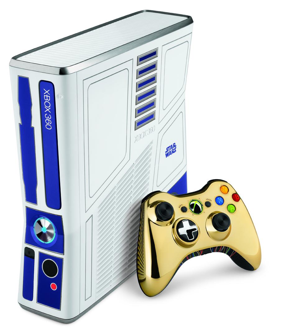 R2-D2 se convierte en Xbox 360