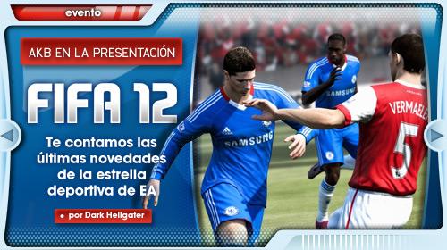 FIFA 12: Crónica de la presentación en Madrid