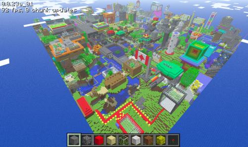 Lo más espectacular que verás hoy: transiciones día/noche en Minecraft