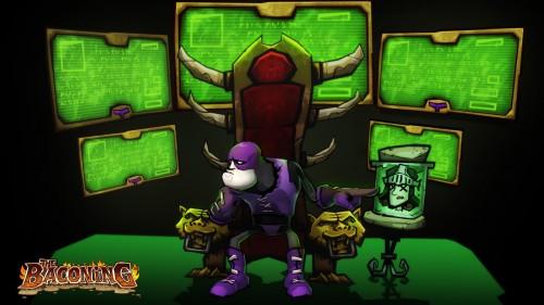 El mejor anti-héroe regresa. ¡Primeras imágenes de DeathSpank: The Baconing!