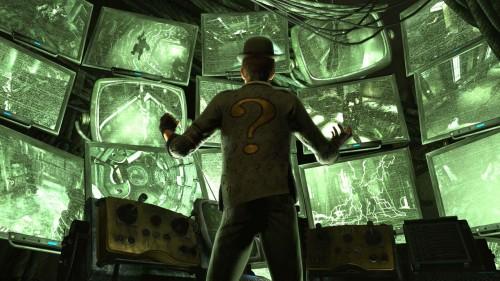 """También tendremos """"enigmas"""" en Batman: Arkahm City"""