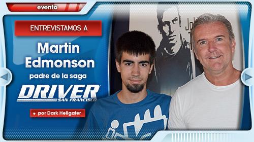 Entrevista a Martin Edmonson, padre de la saga Driver