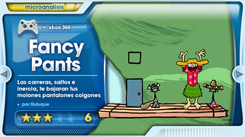 Análisis de The Fancy Pants Adventures
