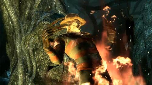 A ver quien corta mejor en Mortal Kombat… ¡Freddy Krueger, claro!