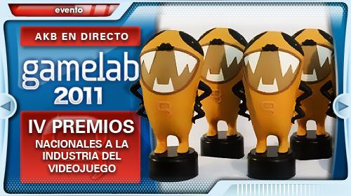 [Gamelab' 11] Gala de entrega de premios nacionales Gamelab 2011