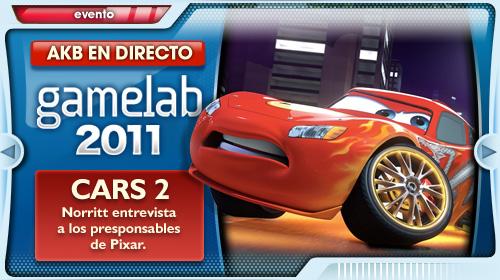 [Gamelab '11] Entrevistamos a los responsables de Cars 2
