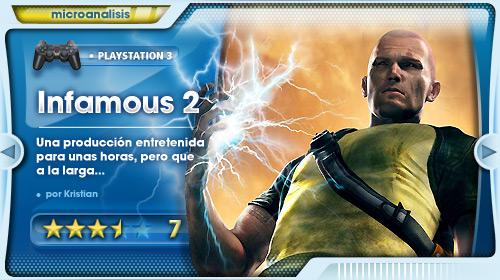 Análisis de inFAMOUS 2 para PlayStation 3