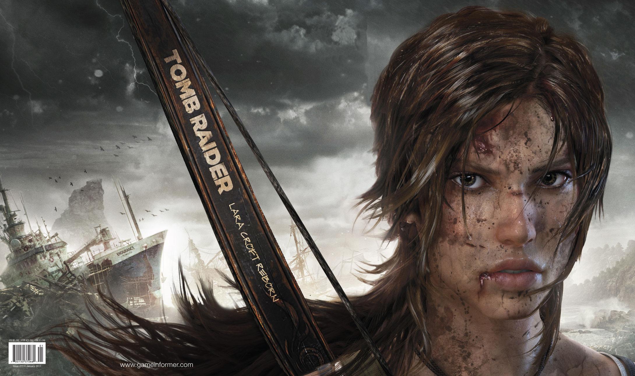 Las entrañas del nuevo Tomb Raider… o al menos de su trailer.