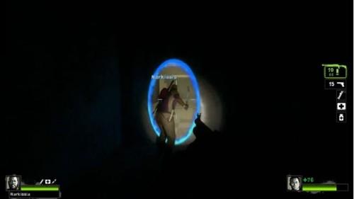GlaDos se presenta en Left 4 Dead 2 gracias a un fan