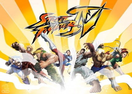 Here comes a new challenger!!!! Si cabe, claro… [Póster Street Fighter IV by Roswell]