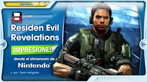 Impresiones de Resident Evil: Revelations