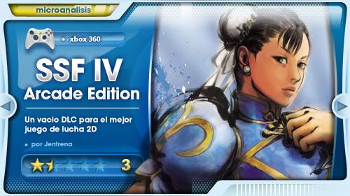 Análisis DLC Arcade Edition de SSFIV para XBOX 360